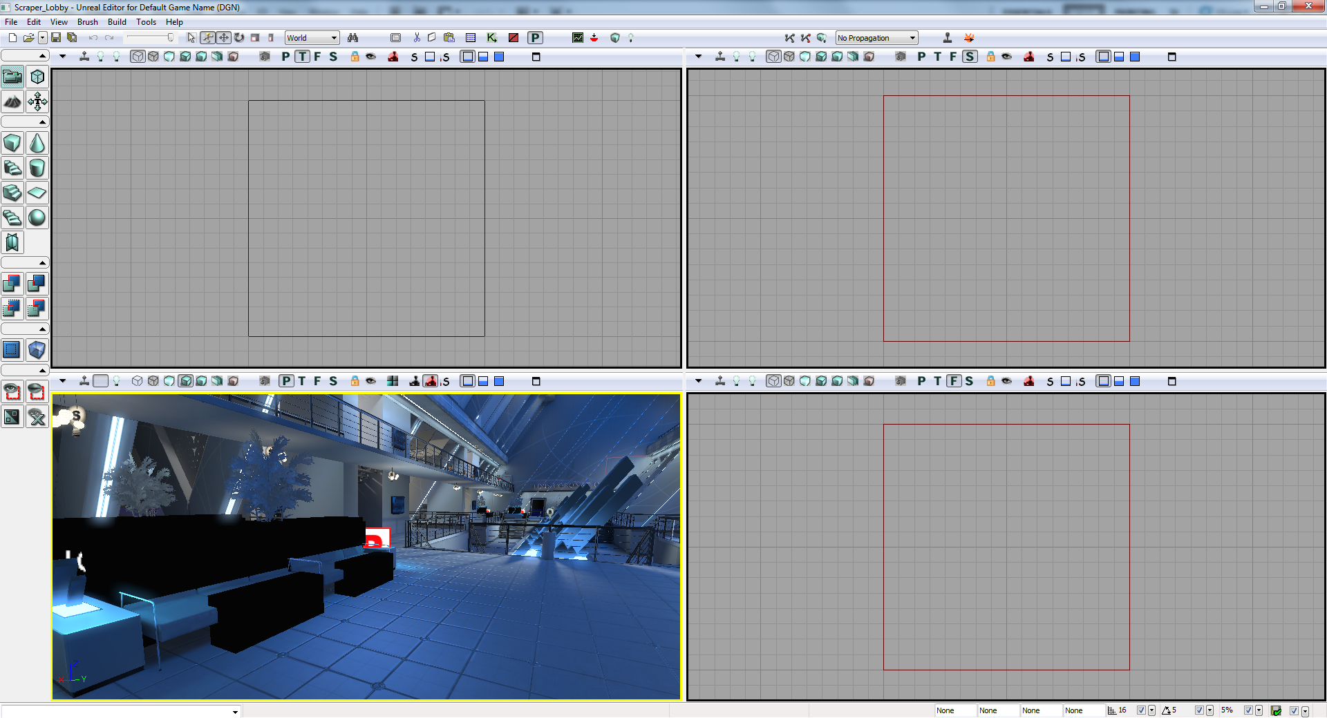 Converting a Mirror's Edge map to UDK – Lagspike
