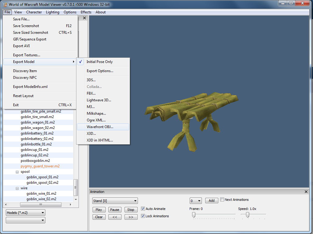 Converting WoW Models to UDK with WoW Model Viewer – Lagspike